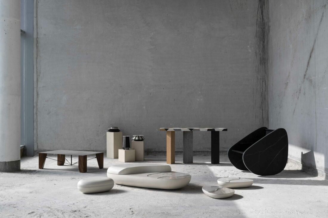 « Capsule Collection », la première ligne de mobilier en Dekton® by Cosentino