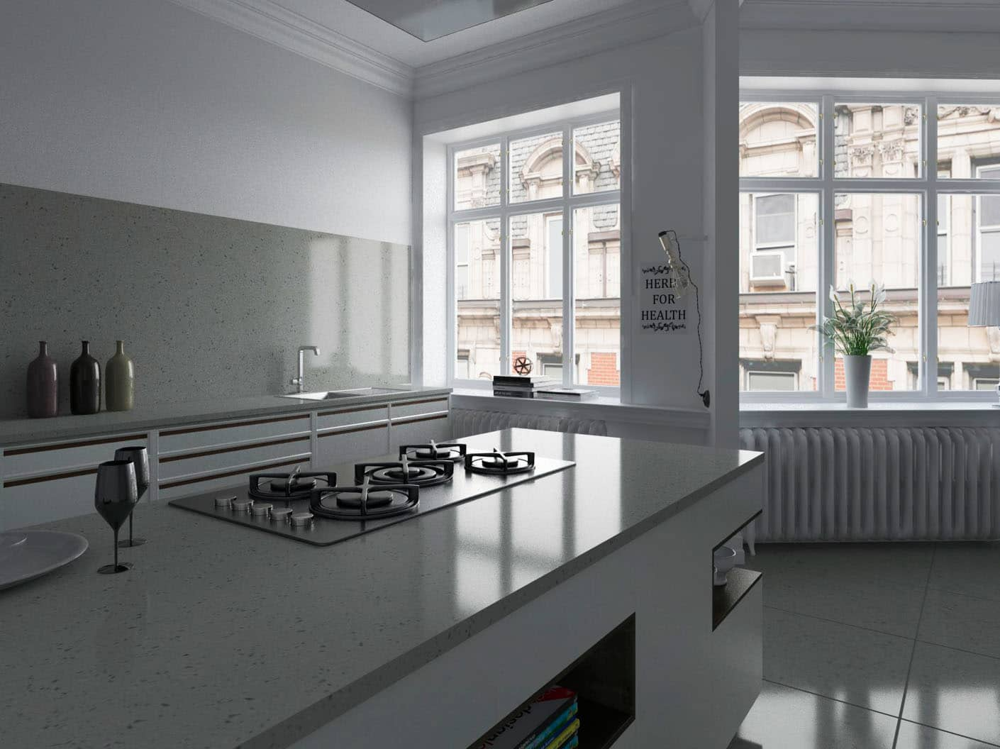 Image of 5 8 in Dekton   Flooring} - Cosentino