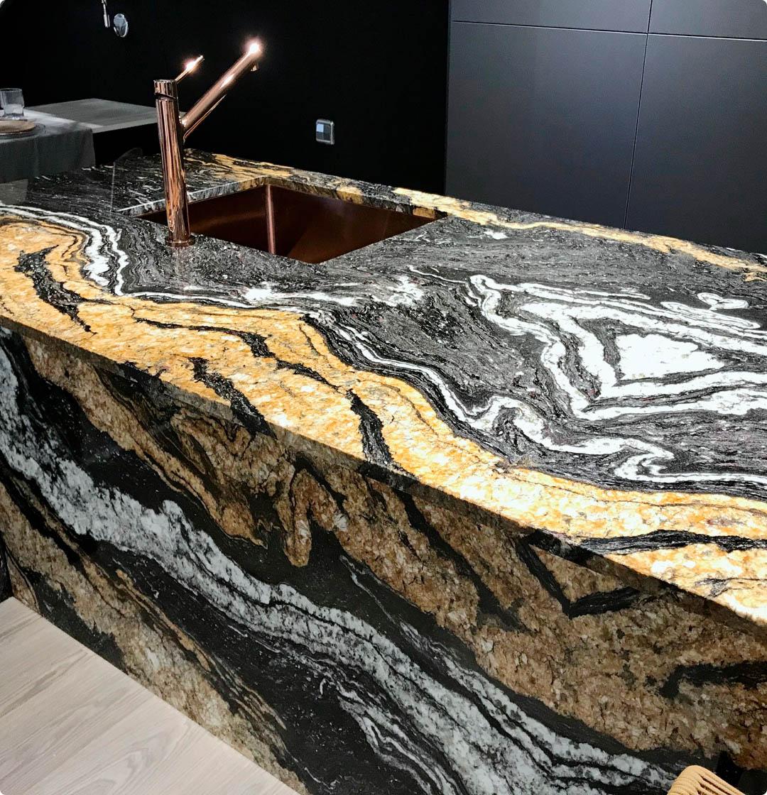 Image of 8 1 in Scalea   Kitchen countertops - Cosentino