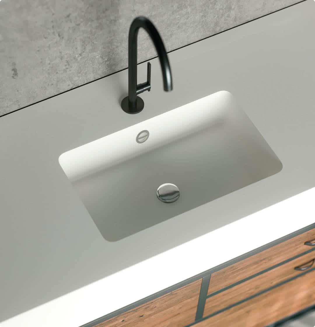 Image of 1 2 in Dekton| Washbasins - Cosentino