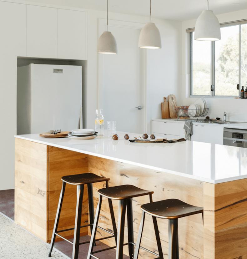 Image of Silestone Kitchen EU Desert Silver 2 in Garantie | Silestone© - Cosentino