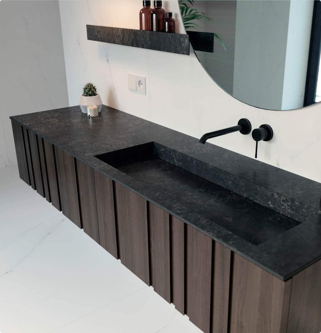 Image of 1 copy in Silestone   Bathroom worktop - Cosentino
