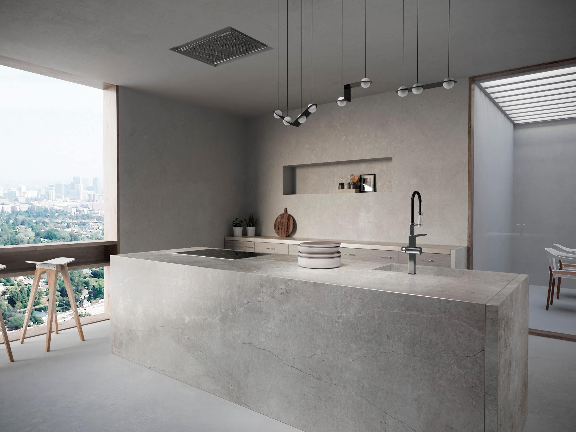 Image of Dekton Kitchen Soke in Cosentino - Cosentino