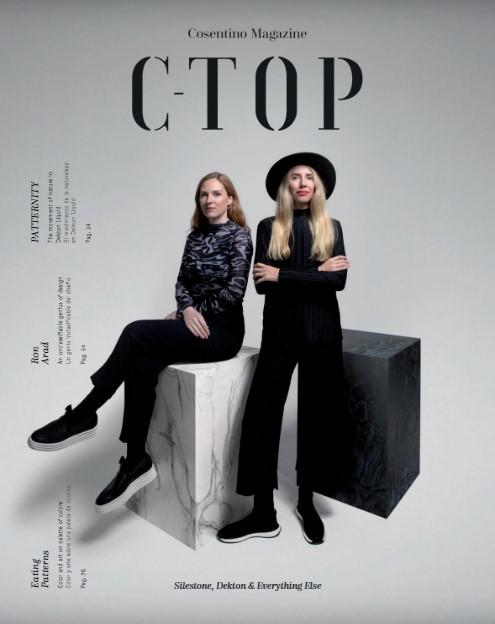 Image of portada c top in Revista C-Top - Cosentino