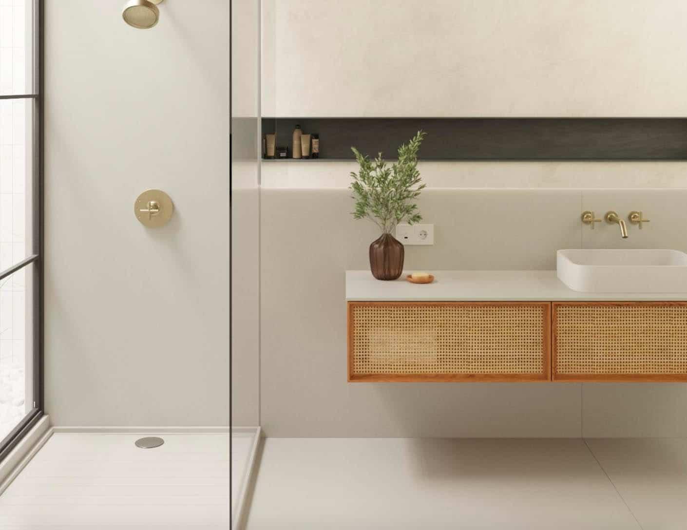 Image of Simulador 1 in Silestone | Bathroom worktop - Cosentino