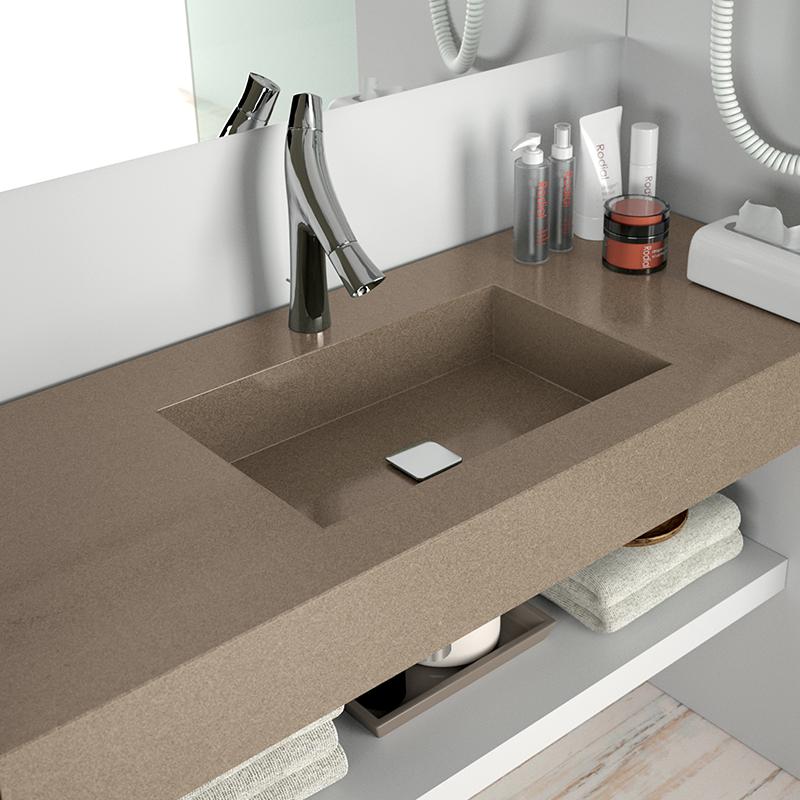 Image of cos lavabos 2 in Casas de banho - Cosentino