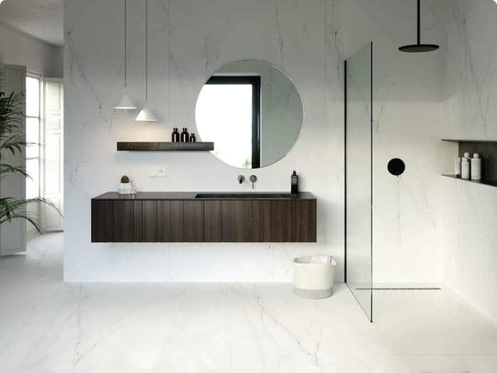 Image of valor 02 1 in Bathrooms - Cosentino