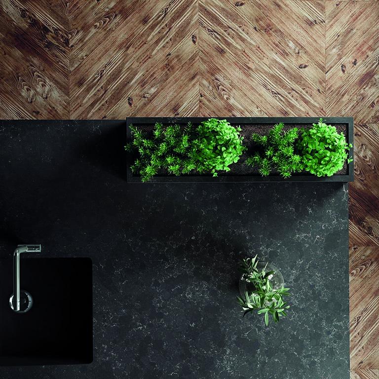Image of Silestone Kitchen Loft Corktown lr 1 3 in Cosentino Unveils the Silestone® Loft Series - Cosentino