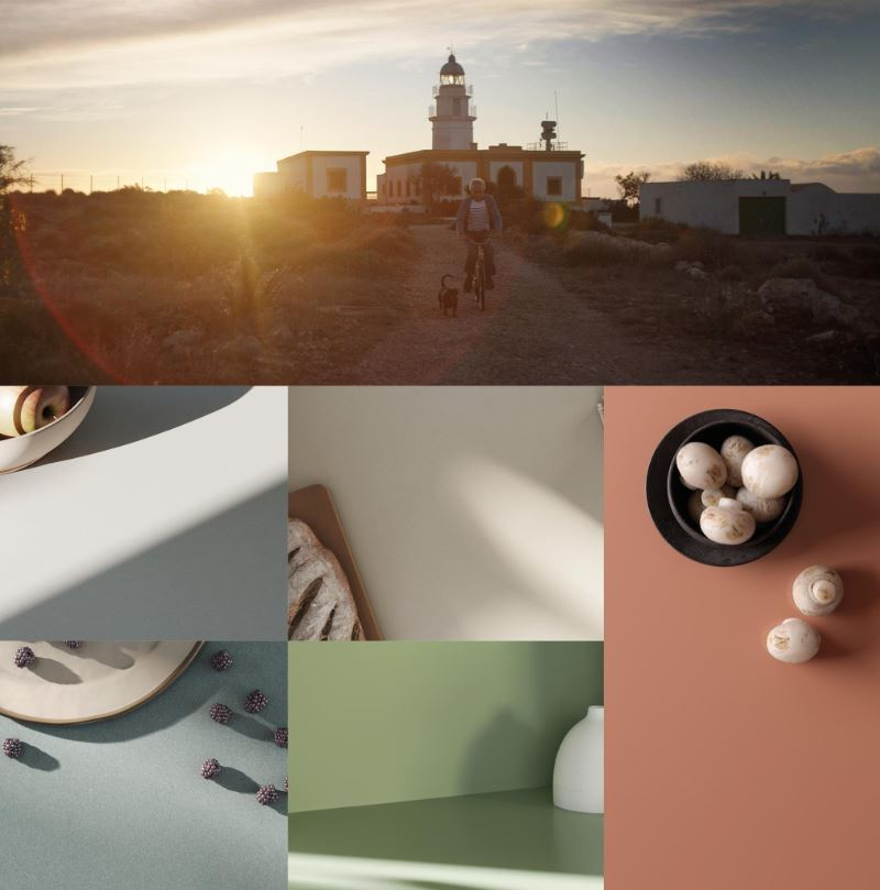 Sunlit Days by Silestone brings Mediterranean colors to life
