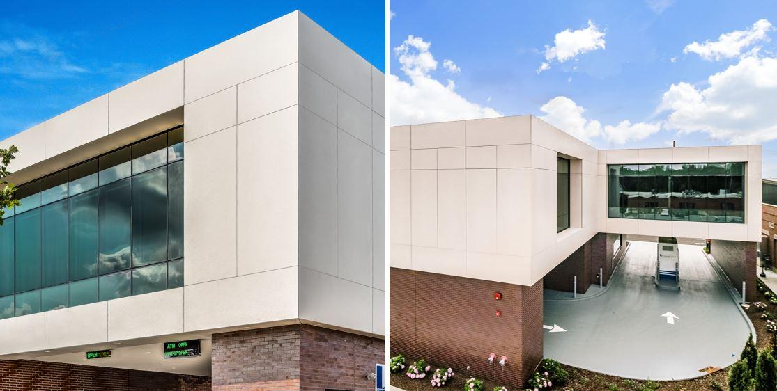 Image of Lakeside 1 1 in Dekton's properties shine in facade applications - Cosentino