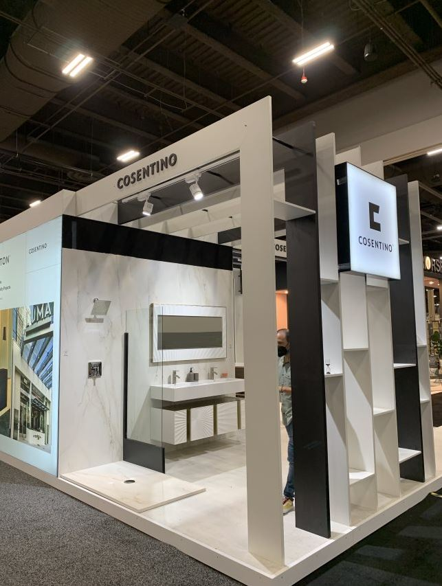 Image of booth1 in Cosentino's next generation of innovations and applications take center stage at HD Expo 2021 - Cosentino