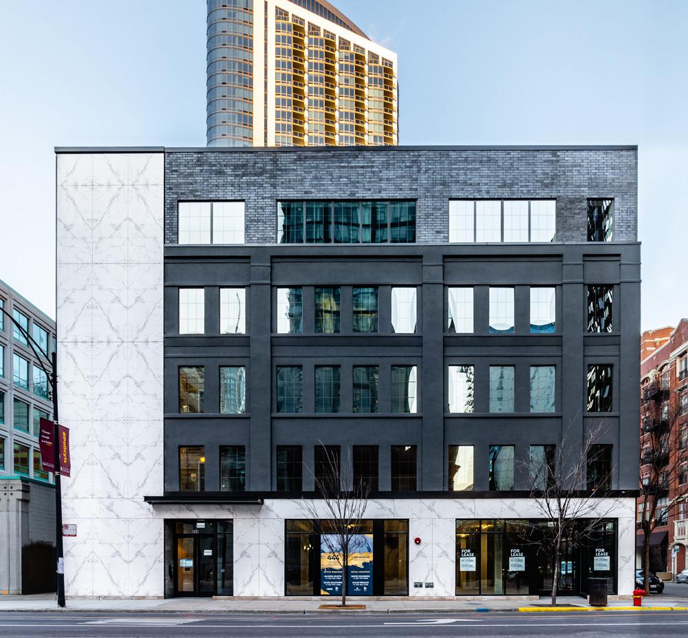 Dekton's properties shine in facade applications