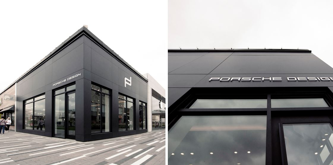 Image of porsche in Dekton's properties shine in facade applications - Cosentino