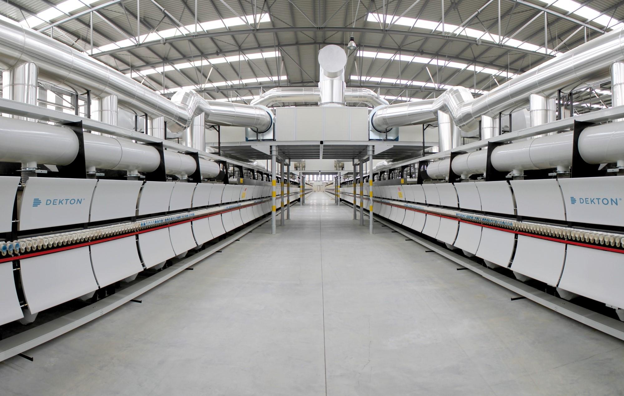 Image of Tuneles Recuperacion Calor Dekton in Cosentino innovating for a better tomorrow - Cosentino
