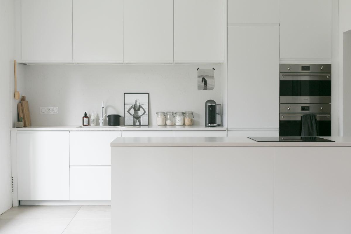 Image of Cosentino Cuisine©KarineKöngPhotography in Karine Köng's minimalist kitchen - Cosentino