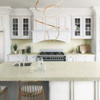 Image of Cosentino Silestone Silken Pearl Kitchen 200x200 1 in Trendspotter: Denise McGaha's Lilac kitchen with Silestone® Eternal series - Cosentino