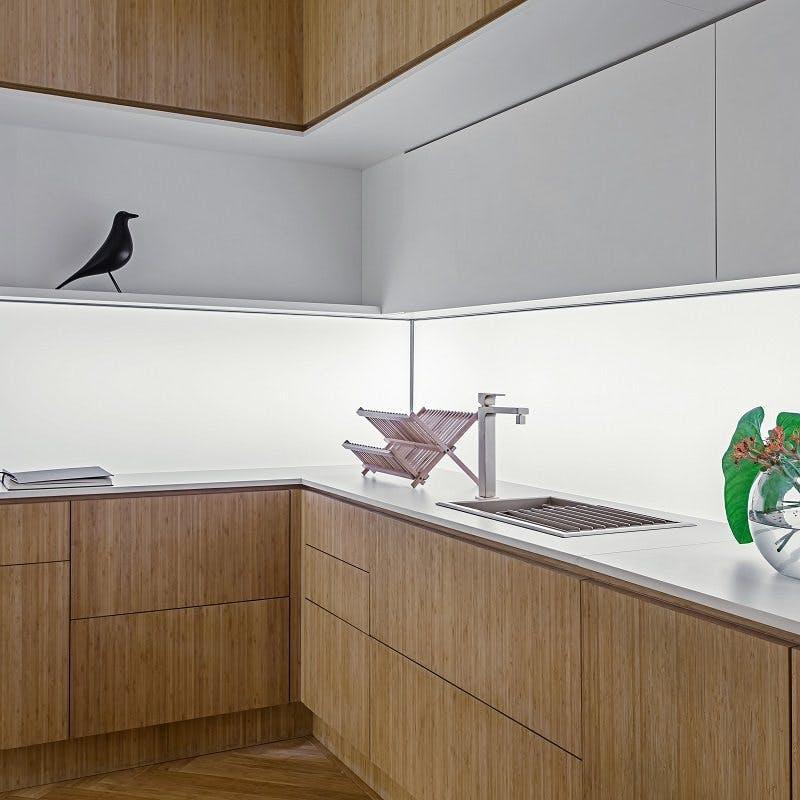 Image of encimera cocina blanca zenith 1 in Necessary Information on White Quartz Countertops - Cosentino