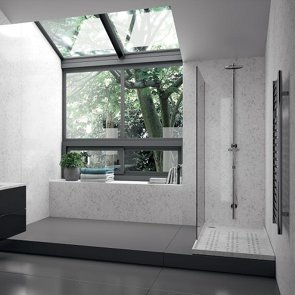 Image of plato ducha blanco 1 in White shower trays - Cosentino