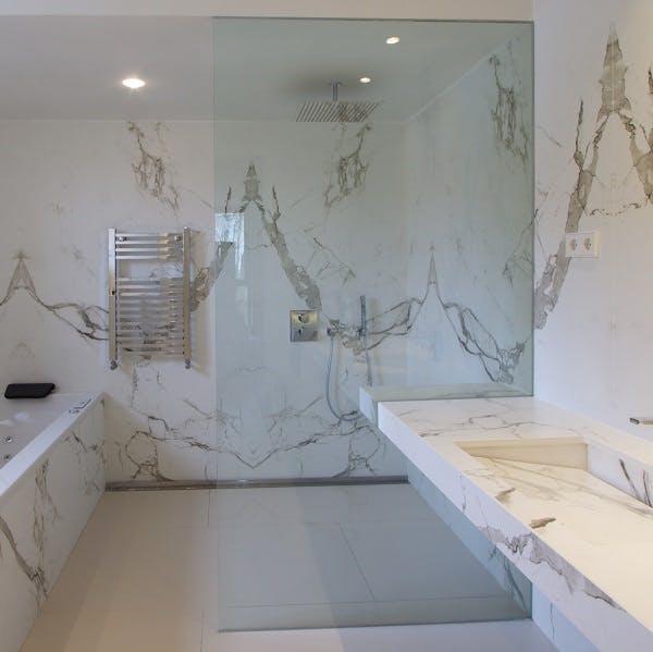 Image of plato ducha blanco banera in White shower trays - Cosentino