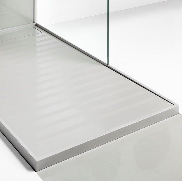 Image of plato ducha blanco kensho 1 1 in White shower trays - Cosentino