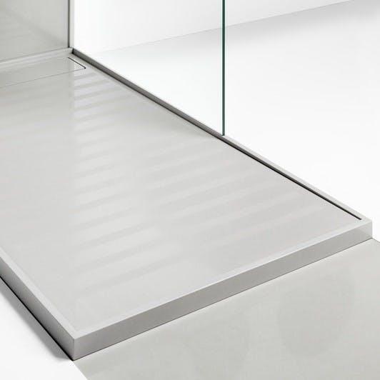 Image of plato ducha gris dekton in Grey shower trays - Cosentino