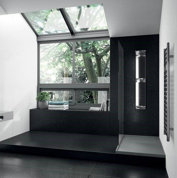 Image of plato ducha gris in Grey shower trays - Cosentino