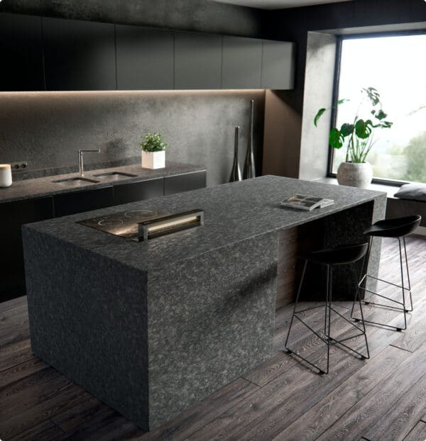 Image of 8 8 in How to design a kitchen island and get the most out of it. - Cosentino