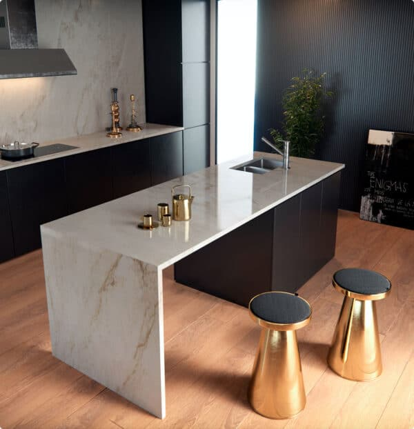 Image of 9 9 in How to design a kitchen island and get the most out of it. - Cosentino