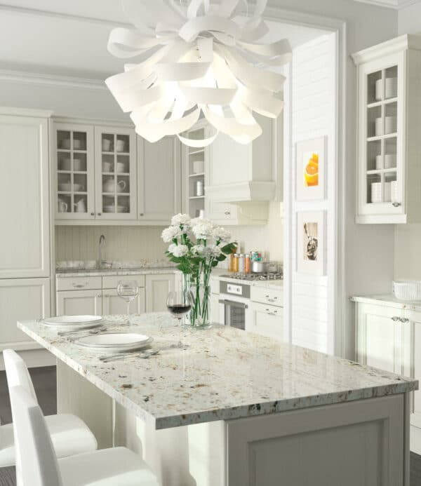 Image of CS BLANCO GABRIELLE AMB in Properties and types of granite – a material that is taking homes by storm - Cosentino