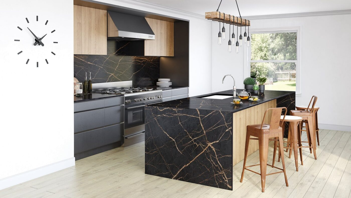 Image of Dekton Avant Garde Laurent Kitchen in How to design a kitchen island and get the most out of it. - Cosentino