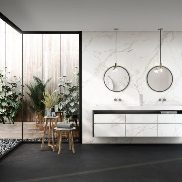 Image of Dekton Bathroom Aura 15 1 in Spring at home: let's make the most of it! - Cosentino