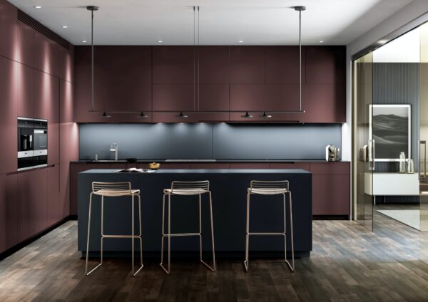 Image of Dekton Chromica Baltic Kitchen Lifestyle Updated 1 1 in Modular kitchens: practical and versatile - Cosentino