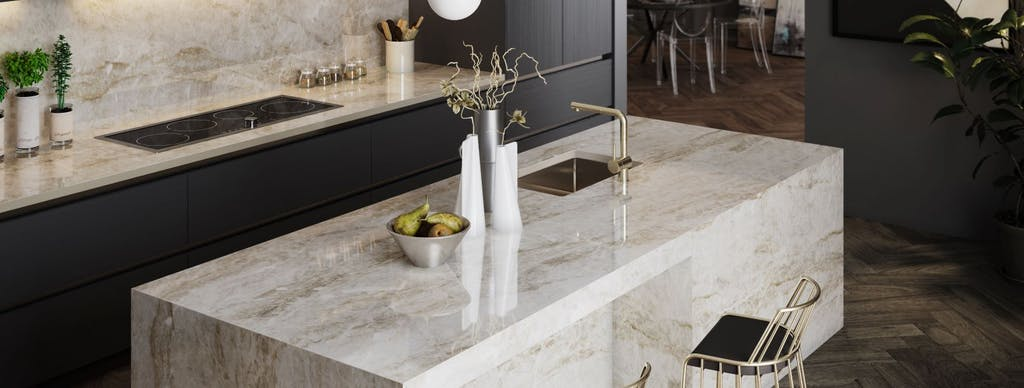 Image of Dekton Kitchen Taga Xgloss in Modern kitchens: five ingredients to try in 2020 - Cosentino