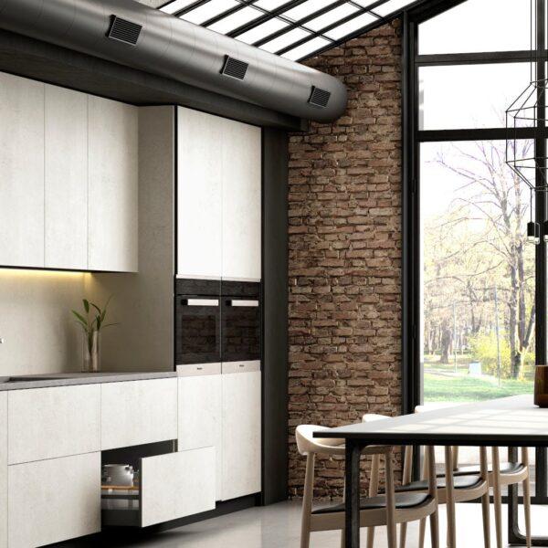 Image of Dekton Slim Kitchen Lunar in Wabi-sabi: Join the most authentic trend - Cosentino