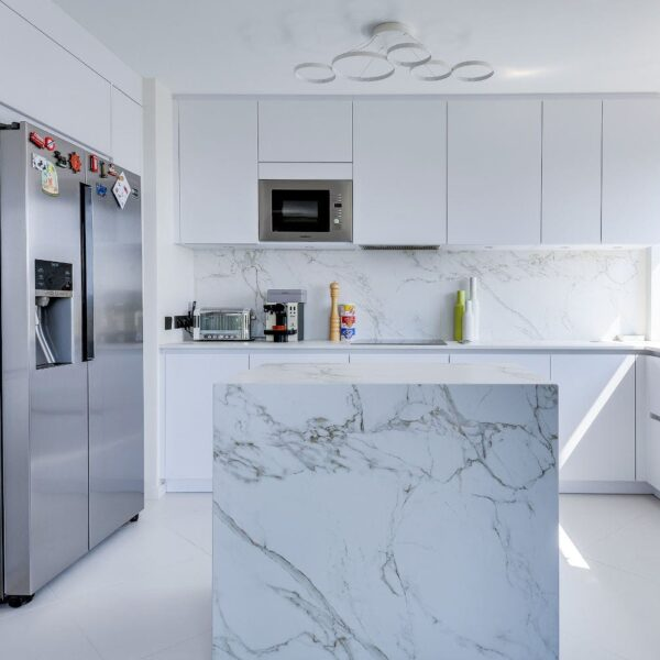 Image of Good Space Entzo in Kitchen walls: how to choose the best cladding - Cosentino