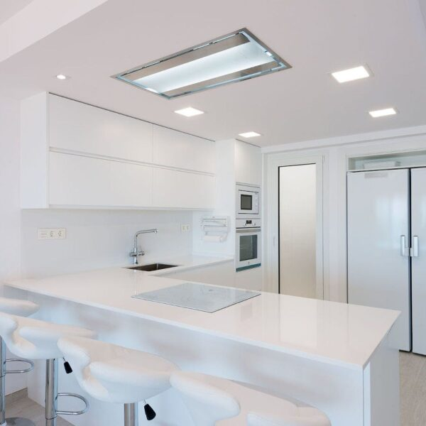 Image of Instalaciones Ricard Zenith in L-shaped kitchens, functionality and design in any space - Cosentino