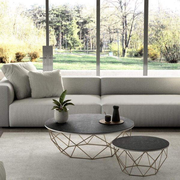 Image of Mesa Dekton Slim Table Detalle Laos 2 1 in Spring at home: let's make the most of it! - Cosentino