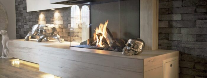 Image of Northwest GB 2 1 in The welcoming warmth of home that only a fireplace can offer - Cosentino