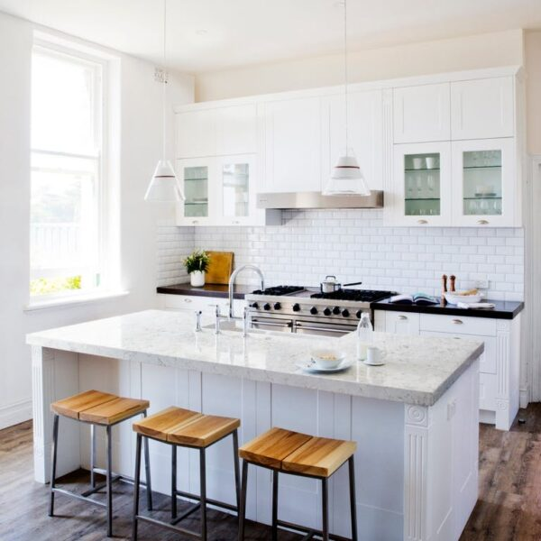 Image of RS11167 Silestone Kitchen Lusso 1 in How to design a kitchen island and get the most out of it. - Cosentino