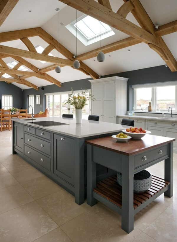 Image of Rustic kitchen 4 1 in Design an American kitchen worthy of a movie set and feel like a star - Cosentino