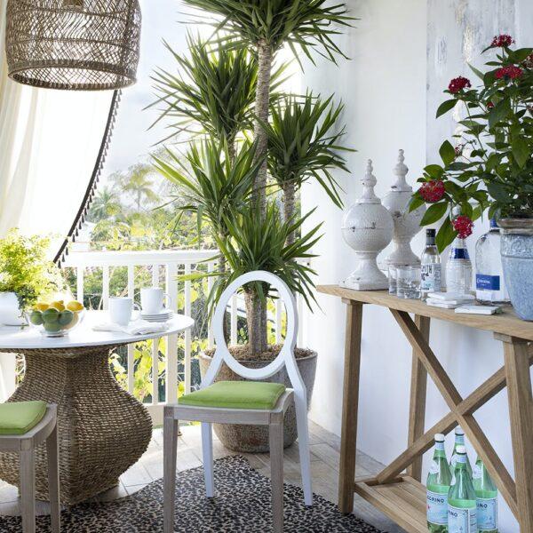 Image of Tablero mesa redonda Dekton Kairos in Spring at home: let's make the most of it! - Cosentino