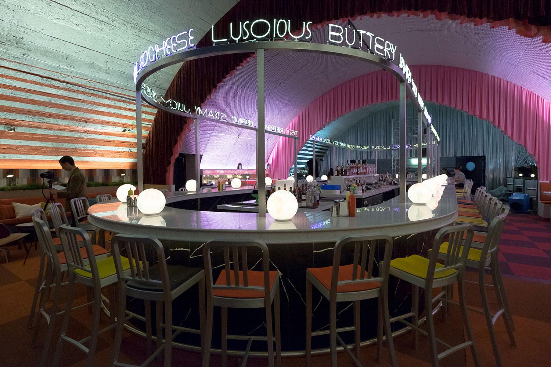Image of The Diner Silestone 1 in David Rockwell - Cosentino