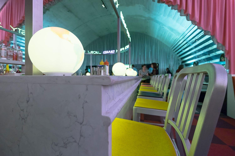 Image of The Diner Silestone 10 in David Rockwell - Cosentino