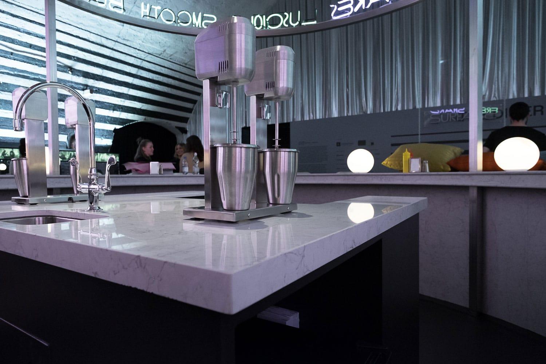 Image of The Diner Silestone 3 in David Rockwell - Cosentino