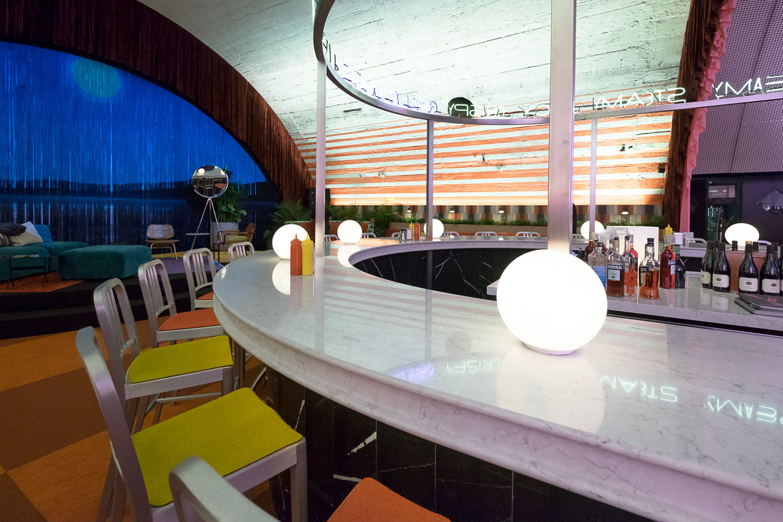 Image of The Diner Silestone 6 in David Rockwell - Cosentino
