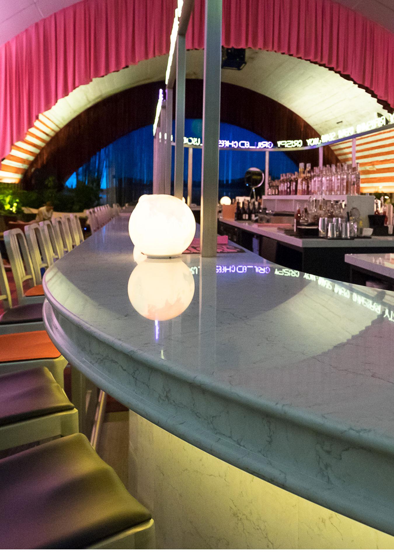 Image of The Diner Silestone 7 in David Rockwell - Cosentino