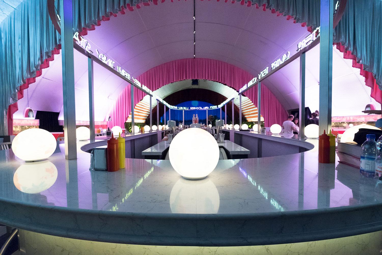 Image of The Diner Silestone 9 in David Rockwell - Cosentino