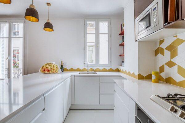 Image of Vincennes 2 in Necessary Information on White Quartz Countertops - Cosentino