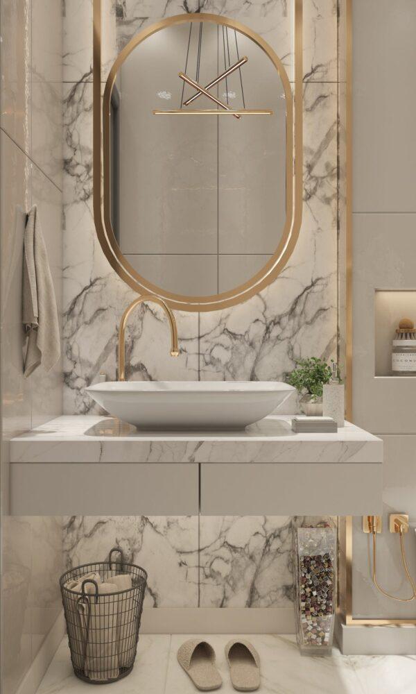 Image of amira aboalnaga O7WjrXiKy s unsplash in Small bathrooms: the great secrets of their design - Cosentino