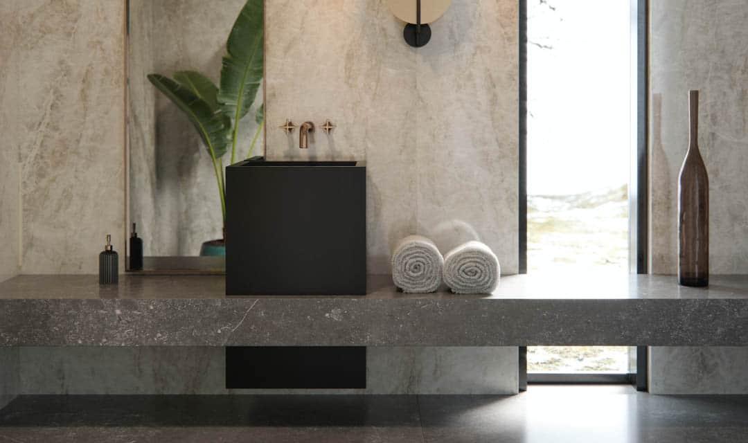 Image of card encimeras in Dekton | Bathroom Worktops - Cosentino